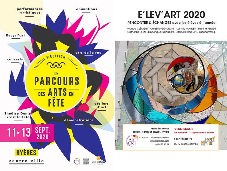 """""""Le Parcours des Arts en Fête"""" - 11 - 12 et 13 septembre 2020"""